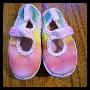 Toddler Rainbow watershoes